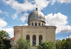 Synagogue in Oradea town. Romania Stock Photography