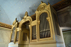 Synagogue organ Stock Image