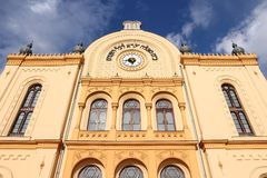 Synagogue in Pecs, Hungary Royalty Free Stock Image