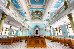 Synagogue in Riga Royalty Free Stock Photo
