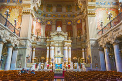 Synagogue in Rome, Italy Royalty Free Stock Images