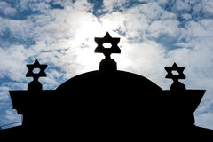Synagogue, Trebic Royalty Free Stock Photography