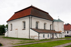 Synagogue in Tykocin. Tiktin Royalty Free Stock Images