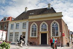 Synagogue in Weesp. In the Netherlands Royalty Free Stock Photo