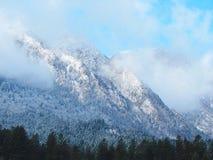 Synaj góry w wigilię bożych narodzeń Obraz Royalty Free