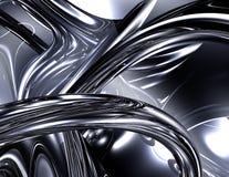 Synapse de chrome illustration de vecteur
