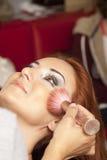 Synar Makeup Royaltyfria Bilder
