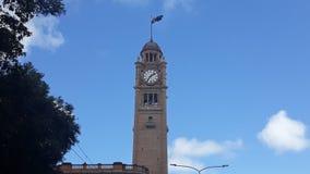 Synchronisation d'horloge à Sydney image libre de droits