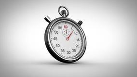 Synchronisation de chronomètre sur le fond gris