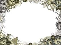 Synchronise le cadre de trame de fond de cru Photo stock