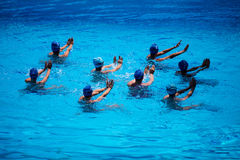 Synchronised Swimming Stock Photos