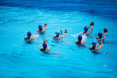 Synchronised Swimming Stock Images