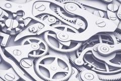 Synchronisez le rendu des machines 3D avec la vue de plan rapproché de vitesses La mode plate colore le style Photo stock