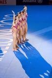Synchronizujący dopłynięcie - Hiszpania Zdjęcia Stock