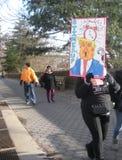 Synchronizuje ` s Up, kobiety ` s Marzec, NYC, NY, usa Obraz Stock
