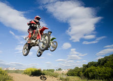 Synchrounous jump Royalty Free Stock Images