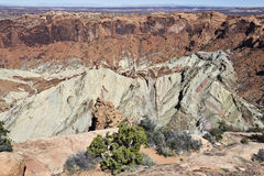 Syncline Crater Formation Stock Images