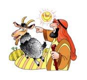 Synd för symbol för öken för strykpojkejudendom djur royaltyfri illustrationer