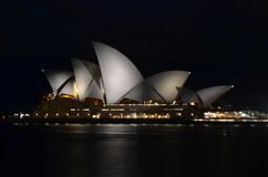 Syndey Opera House at night Stock Images