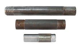 Syndicats filetés de pipe Photographie stock