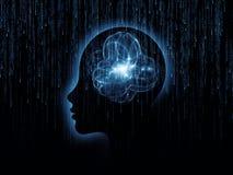 Synergie d'esprit Images libres de droits