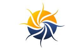 Synergie Logo Design Template Photo libre de droits