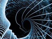 Synergien der Seele und des Verstandes lizenzfreie stockfotos
