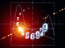Synergier av geometri stock illustrationer