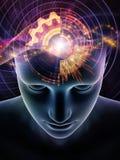 Synergies d'esprit humain Illustration Stock