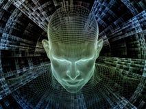 Synergies d'identité de Digital Images stock