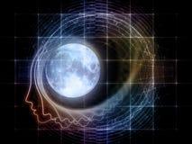 Synergies de la lune Images libres de droits