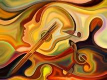 Synergies de la musique Image stock