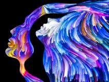 Synergies de passion illustration stock