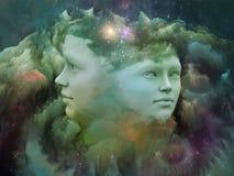Synergies de rêve Photos libres de droits