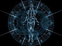 Synergies of Sacred Geometry Stock Photo