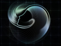 Synergies of Soul Geometry Royalty Free Stock Images