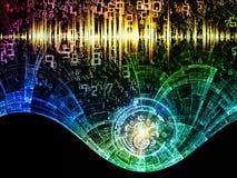 Synergiowie Cyfrowego świat Zdjęcia Stock