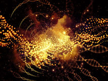 Synergiowie DNA Zdjęcia Royalty Free