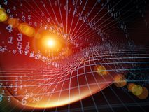 Synergiowie geometria Zdjęcia Stock