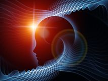 Synergiowie umysł Obrazy Stock