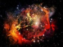 Synergiowie wszechświat zdjęcie royalty free