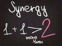 Synergisme stock illustratie