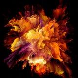 Synergismen van de Explosie van de Kleurenplons vector illustratie