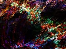 Synergismen van Kleurenafdeling royalty-vrije illustratie