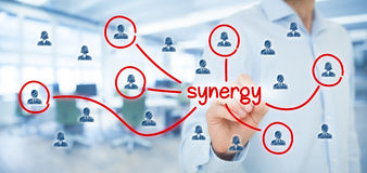 Synergy concept Royalty Free Stock Photos