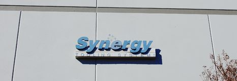 """Synergy Tooling Systems, Memphis, TN. Synergy Tooling Systems manufacures engineered sets of """"press-ready"""" converting tools that maximize the productivity of Stock Photography"""