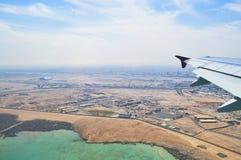 synlig vinge för motorjetsikt Royaltyfria Bilder