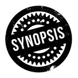 Synopsis rubber stamp Stock Photography