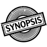 Synopsis rubber stamp Royalty Free Stock Photos