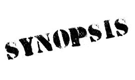 Synopsis rubber stamp Royalty Free Stock Images